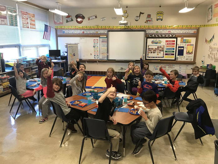 Ms. Dickman's Class thanks PIE!
