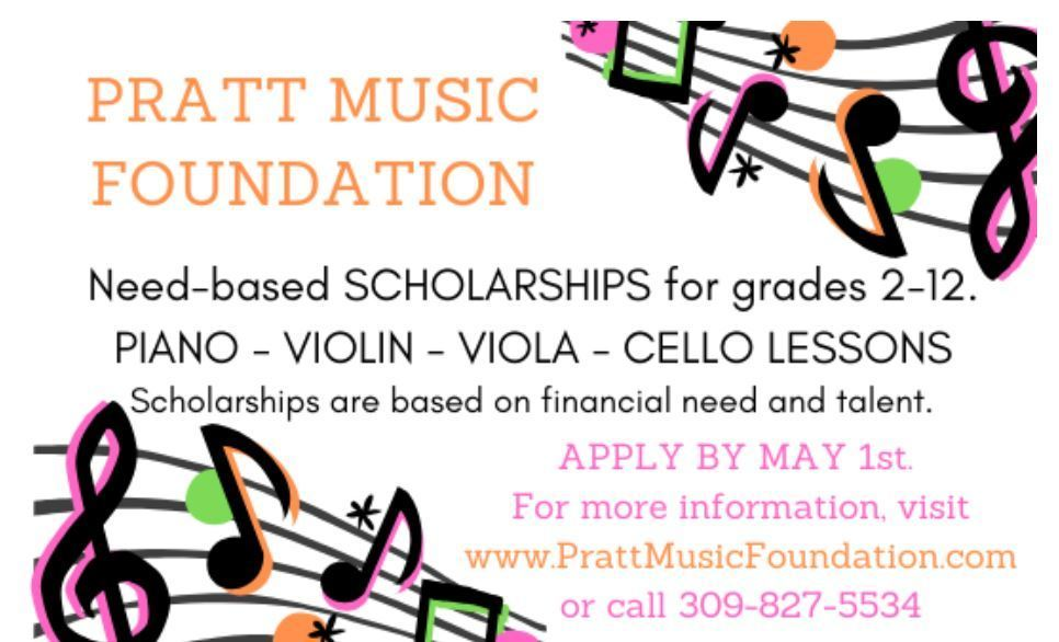 Pratt Music Scholarship Opportunity