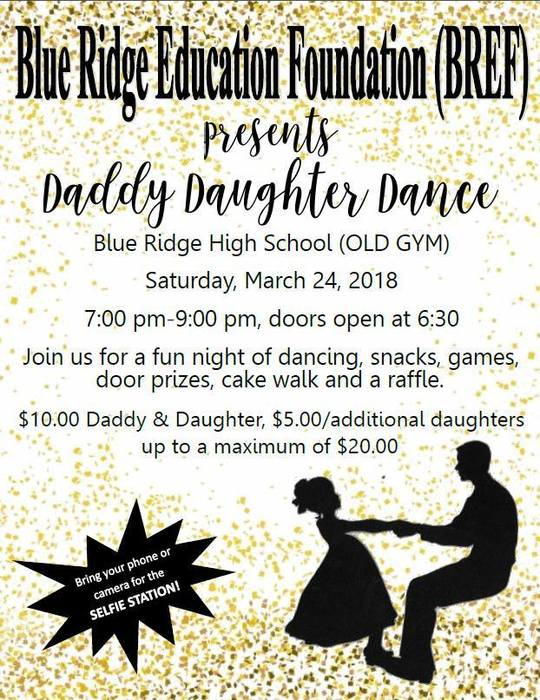 BREF Daddy/Daughter Dance - March 24
