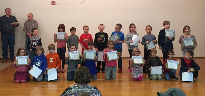Grade 2 BUG Honorees