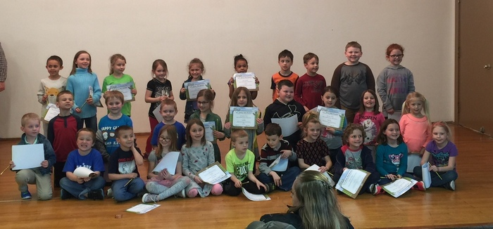 Grade 1 BUG Honorees