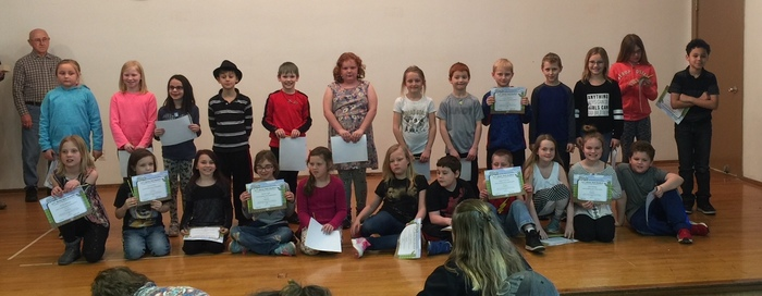 Grade 3 BUG Honorees
